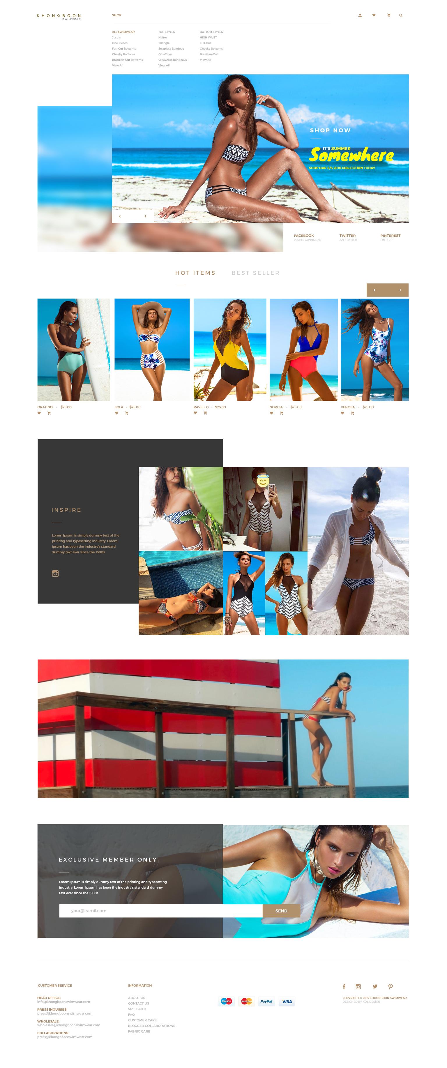KOS Design - Khongboon Swimwear