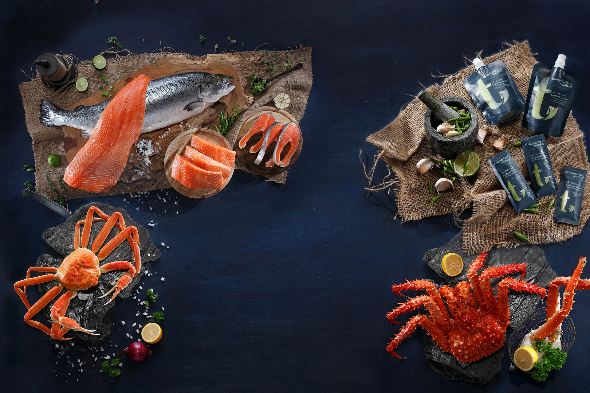 KOS Design - Thammachart Seafood