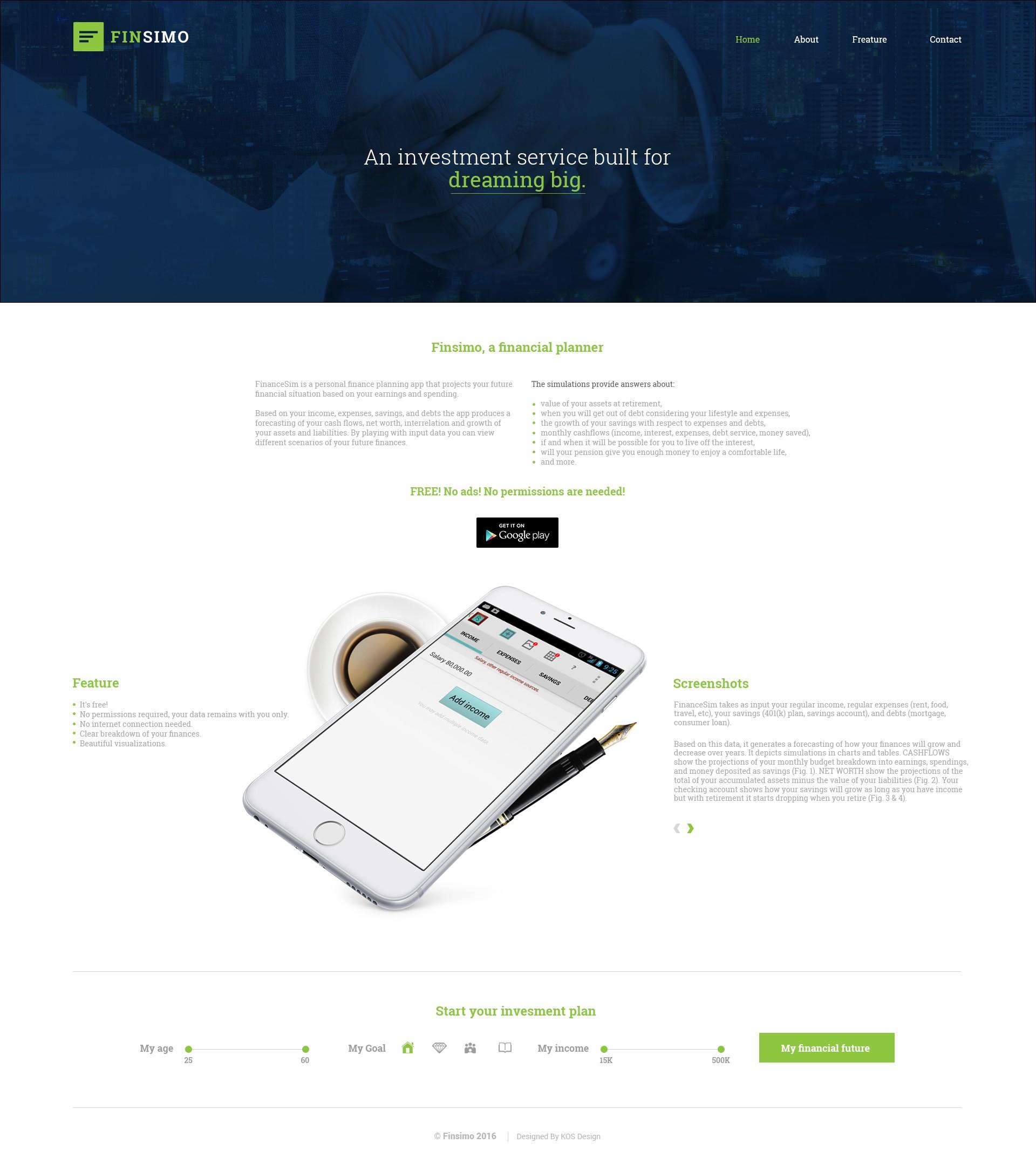 KOS Design - FinSimo