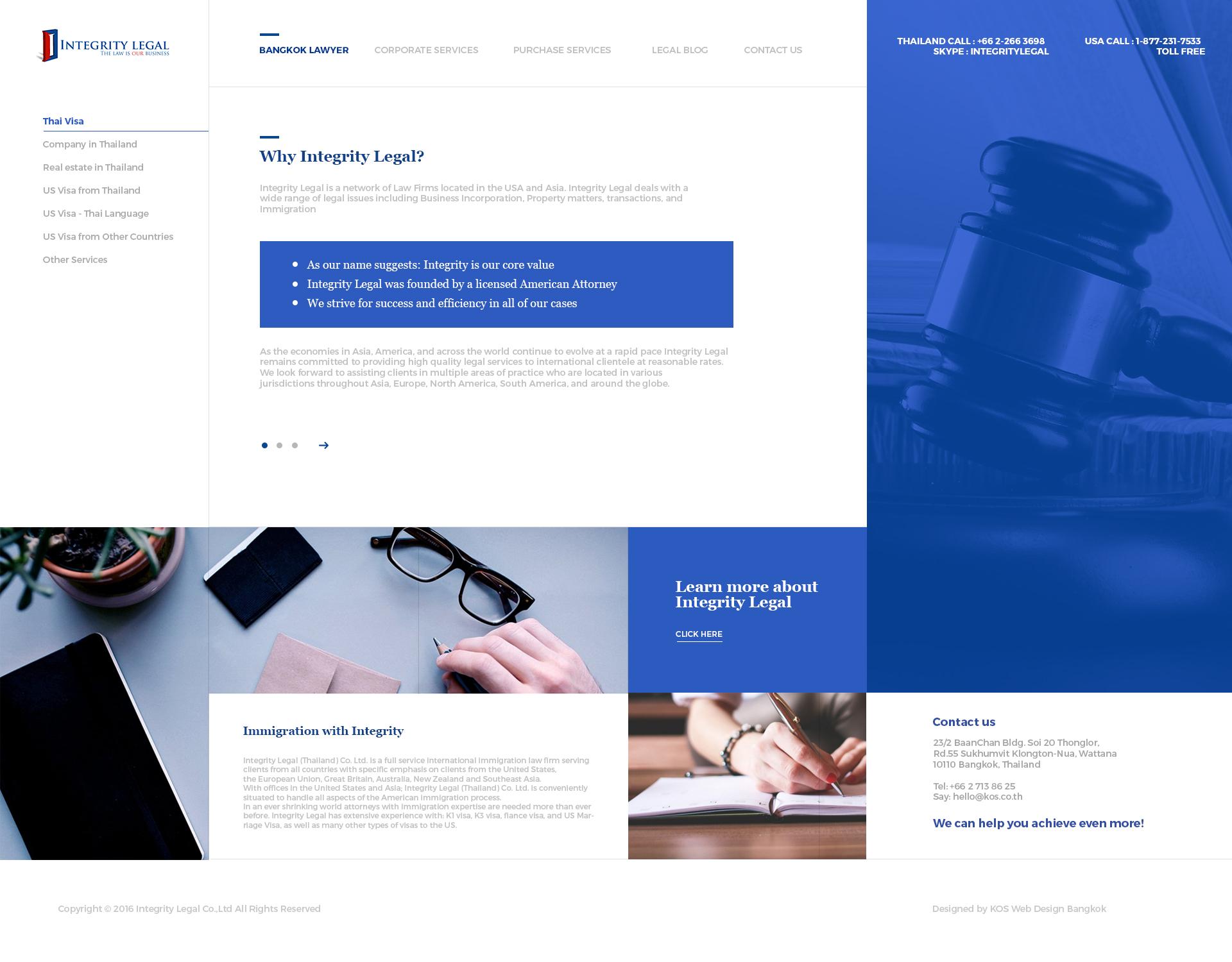 KOS Design - Integrity Legal