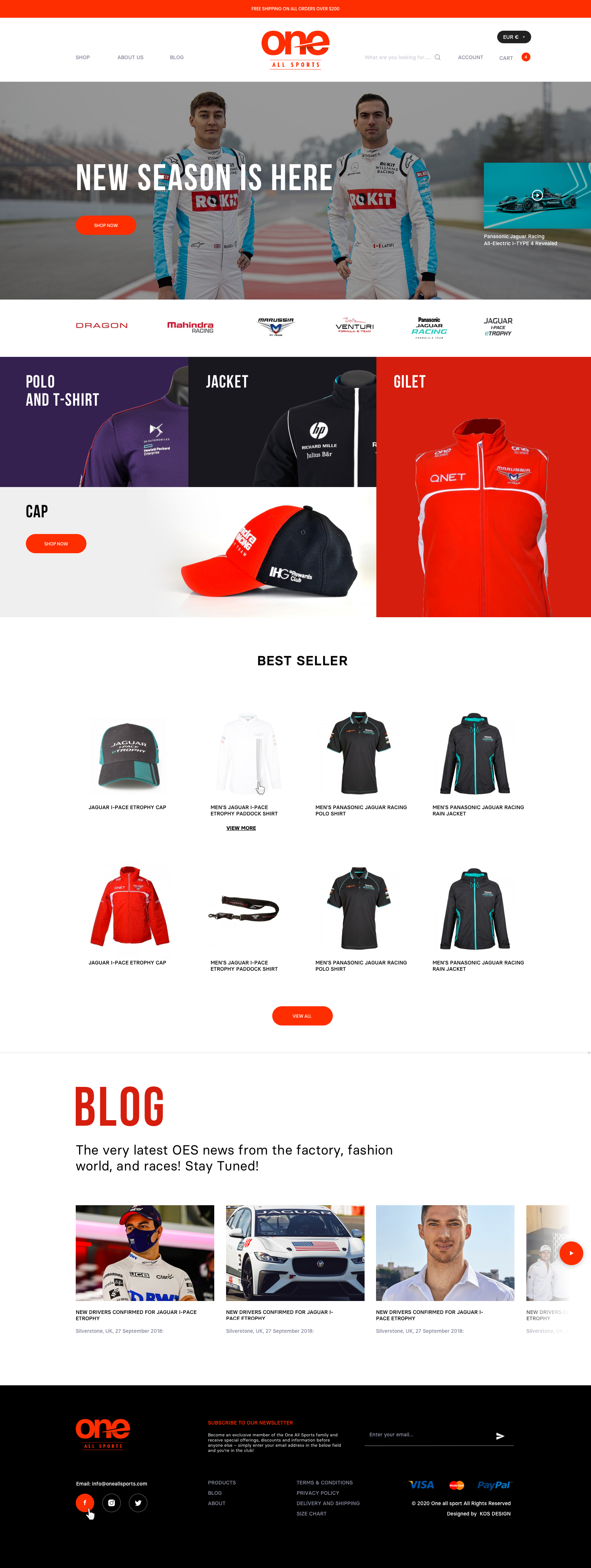 KOS Design - One All Sports