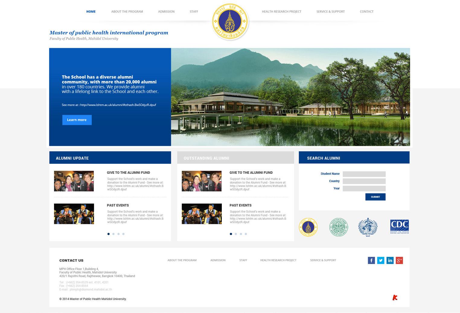 KOS Design - MPH Mahidol