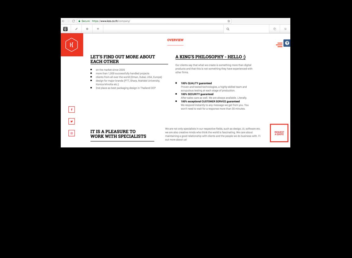 Web Design Thailand - KOS Design